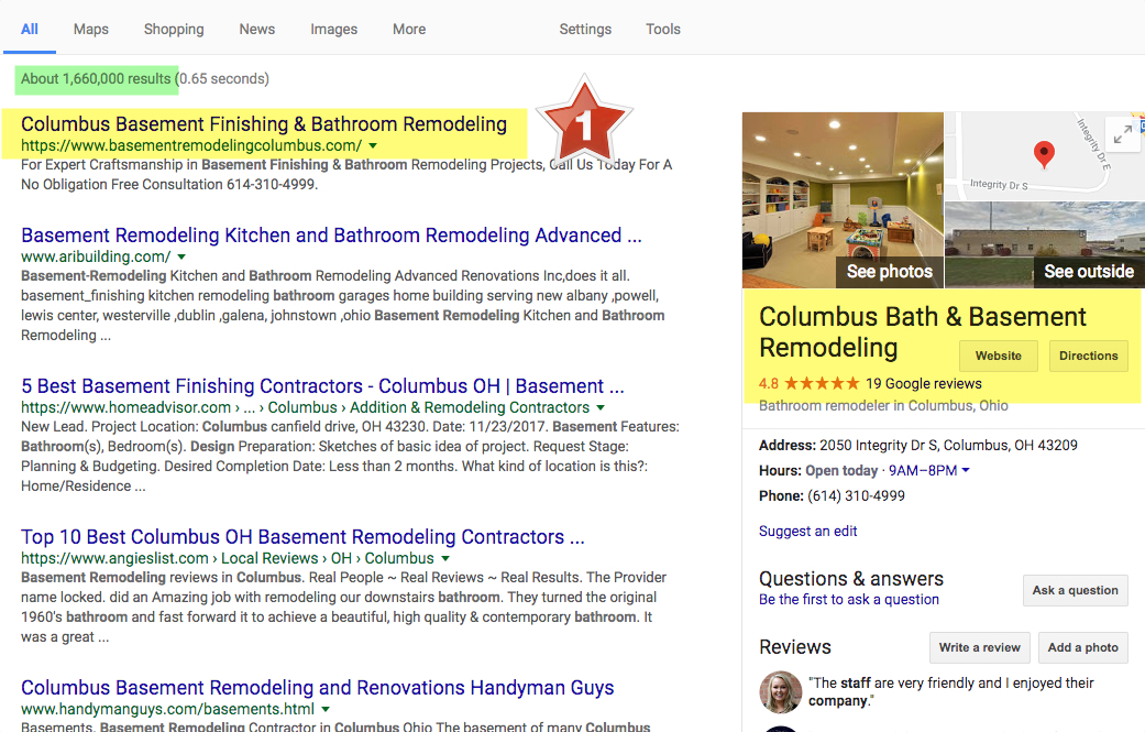columbus remodeling contractor marketing company - Home Remodeler SEO