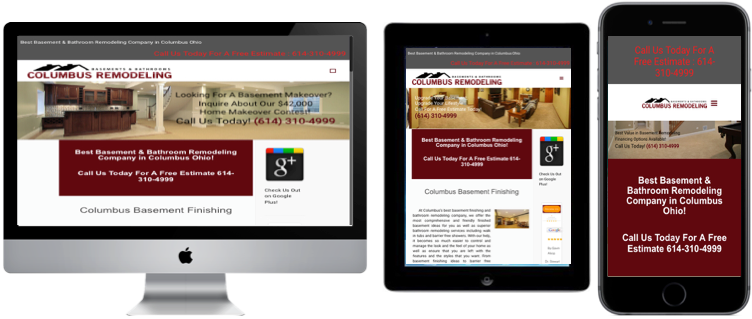 columbus remodeling website design